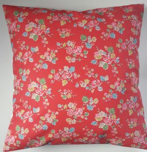 Cushion Cover in Cath Kidston Woodland Rose Red 16""
